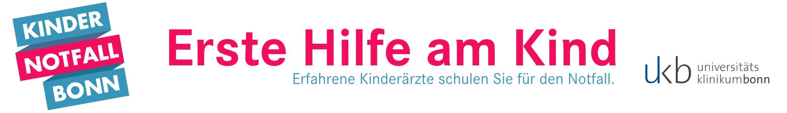 Kindernotfall Bonn - Erste Hilfe am Kind