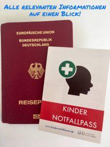 Kindernotfall Pass